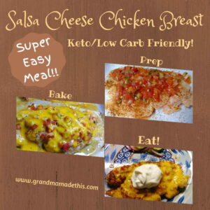 Salsa Cheese Chicken Breast