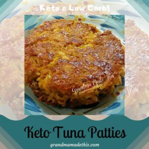 Keto Tuna Patties