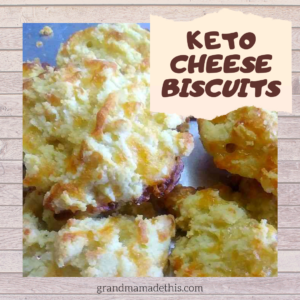 Keto Cheese Biscuits