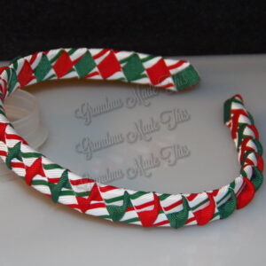 Christmas Twisted Woven Headbands