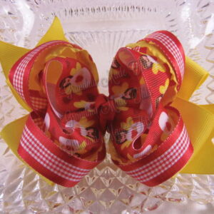 Christmas Twisted Ribbon Bows $9.75