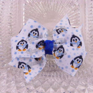 Winter Petite Quad Hair Bows