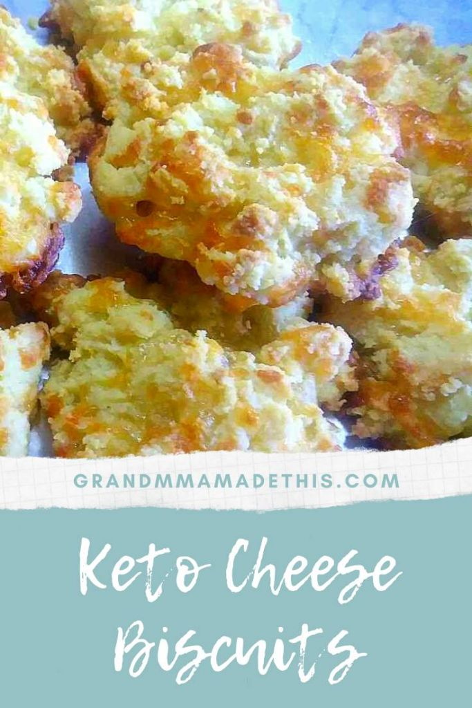 Keto Cheese Biscuits pin